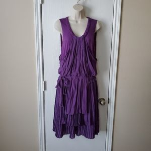See by Chloe Sleeveless Pleat Dress